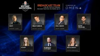 Mythic Invitational Broadcast Team