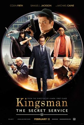 Kingsman The Secret Service Movie Poster