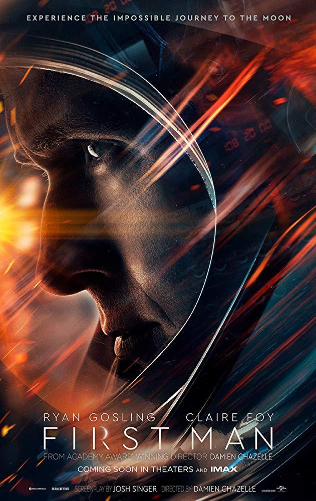 First Man 2018 Movie Poster