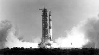 Apollo 11 Liftoff from NASA Archive