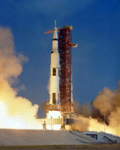 Apollo 11 Saturn V Liftoff