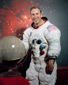 Astronaut Jim Lovell