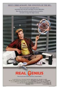 Real Genius Movie Poster