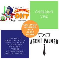 Geeking Out With Angry Ginger Ep 2 AMA with Agent Palmer