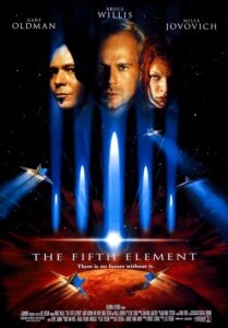Fifth Element Movie Poster