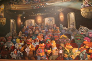 Muppets Mural - Jim Henson Studios