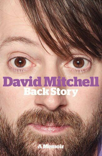 David Mitchell Backstory A Memoir Book Cover