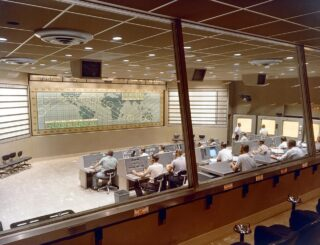 Mission Control during Project Mercury
