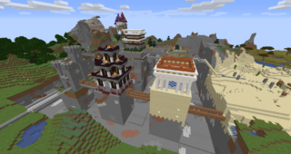 Minecraft World Screenshot