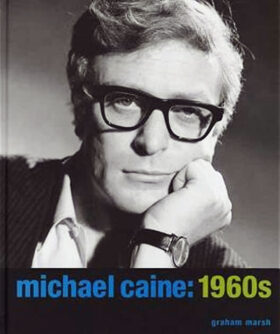 Michael Caine 1960s Book Cover