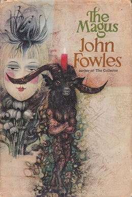 The Magus John Fowles Book Cover