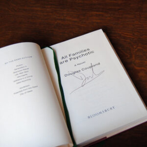 A signed copy of All Families are Psychotic