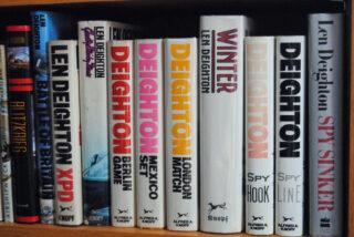 Len Deighton Books Shelf