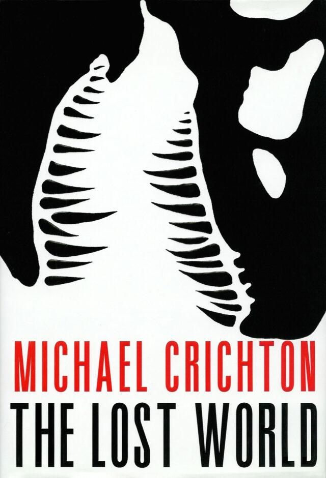 The Lost World Michael Crichton Book Cover